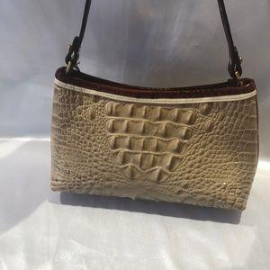 Brahmin Bags - Brahmin Croc Embossed Shoulder Handbag NEW
